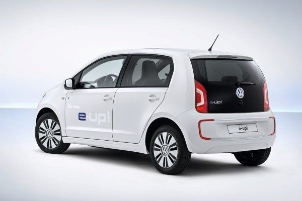 Volkswagen e-Up rear angle