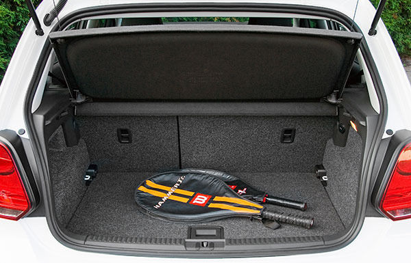 audi a1 boot size