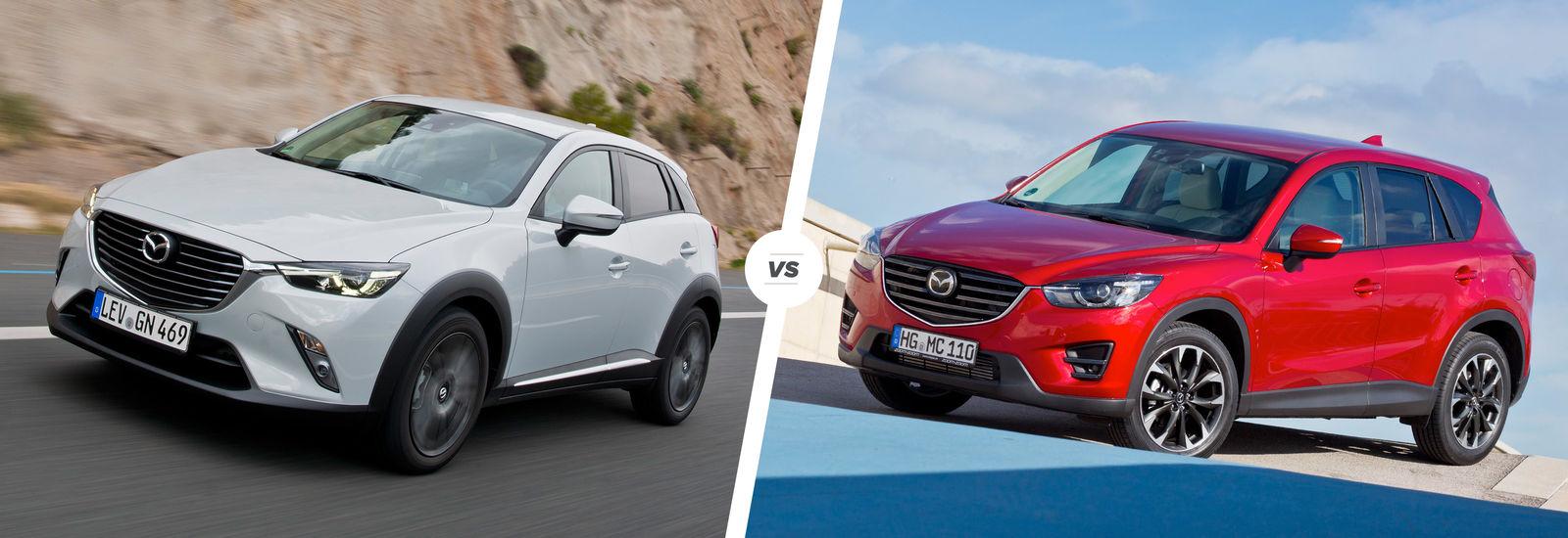 Where Are Mazdas Made >> Mazda CX-3 vs Mazda CX-5: SUV sibling rivalry | carwow