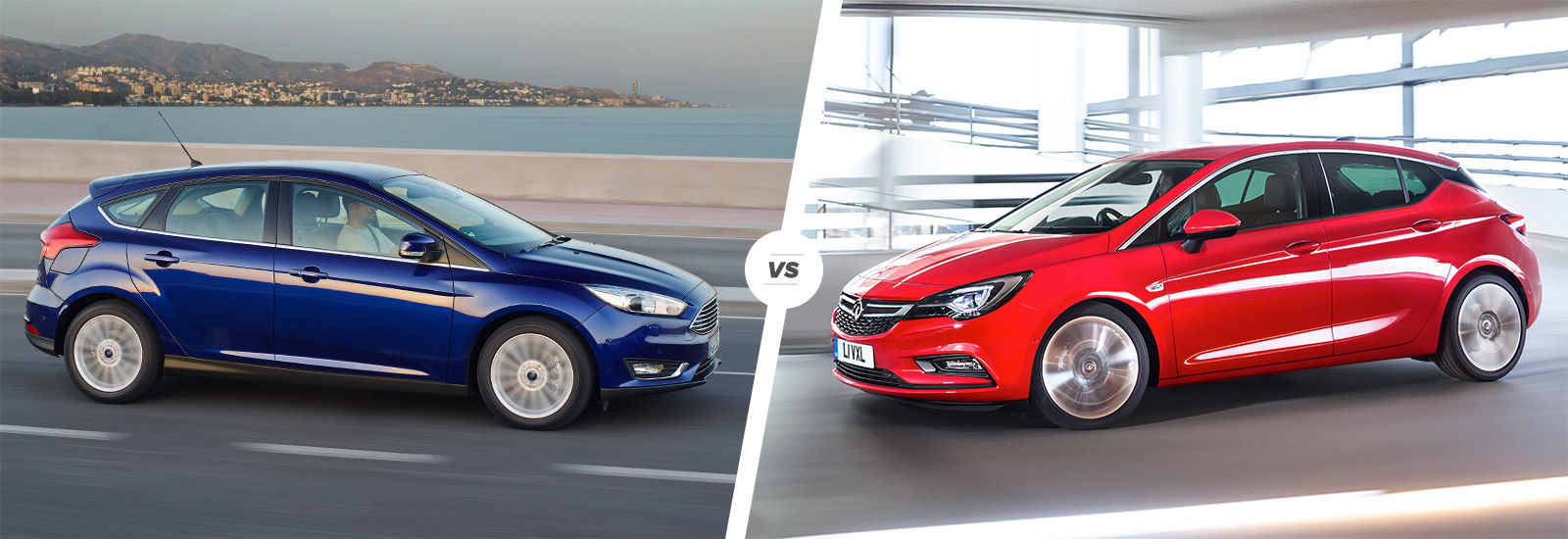 Ford Focus vs Vauxhall Astra comparison  carwow