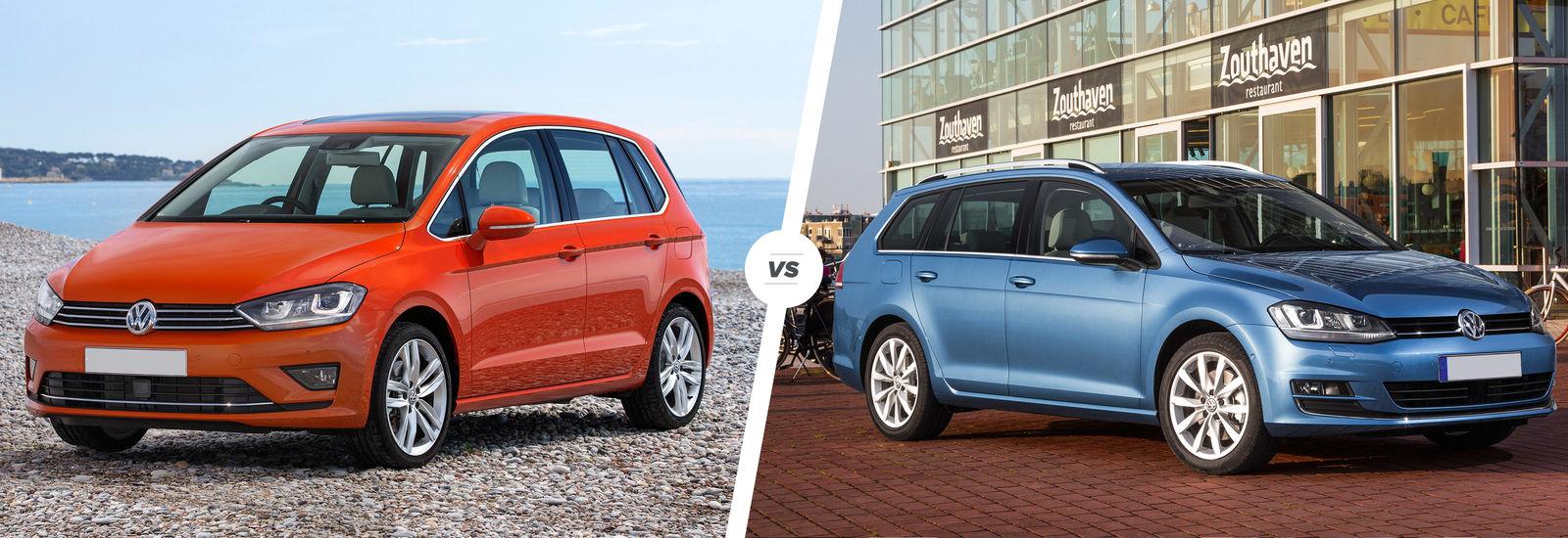 VW Golf SV vs Golf Estate – family car fight | carwow