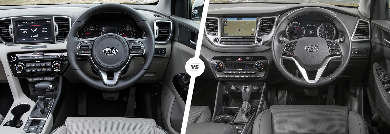 Perfect Kia Sportage Vs Hyundai Tucson U2013 Interior