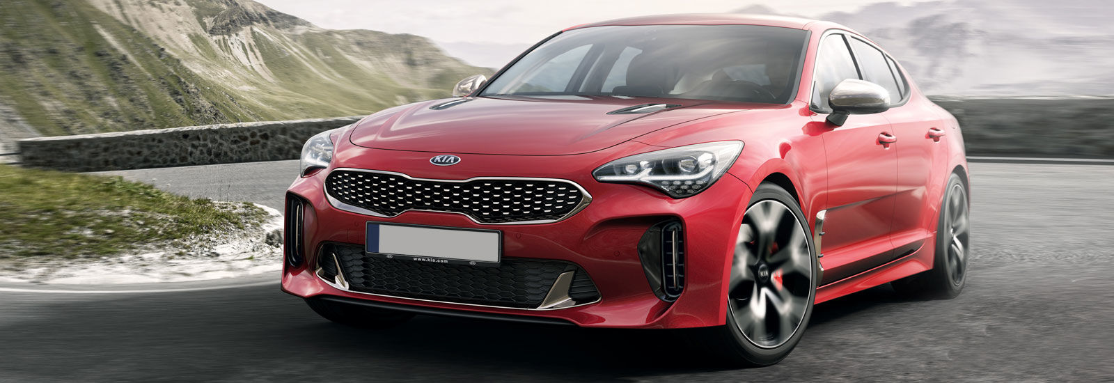 2018 kia lease deals. perfect deals red kia stinger gt front hairpin shot on 2018 kia lease deals