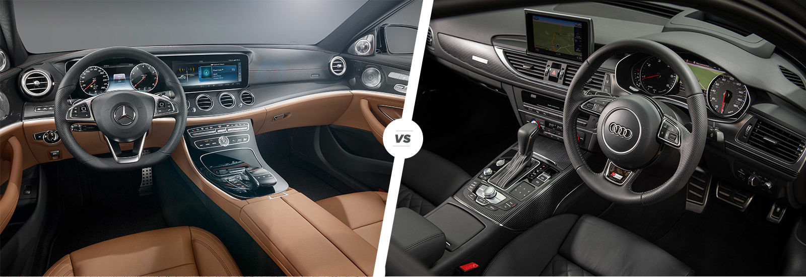 Mercedes EClass vs Audi A6 comparison  carwow