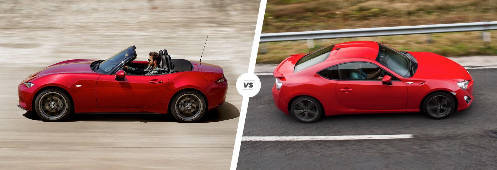 Mazda Mx 5 Vs Toyota Gt86 And Subaru Brz Carwow