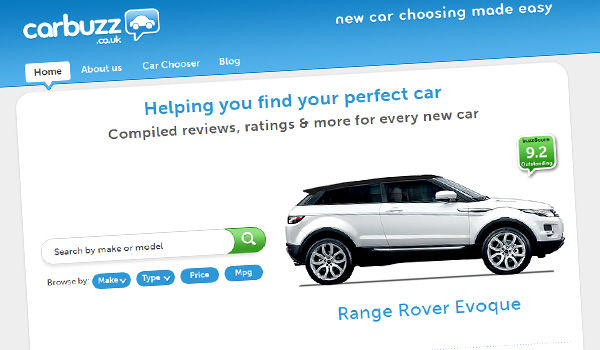 carwow homepage redesign