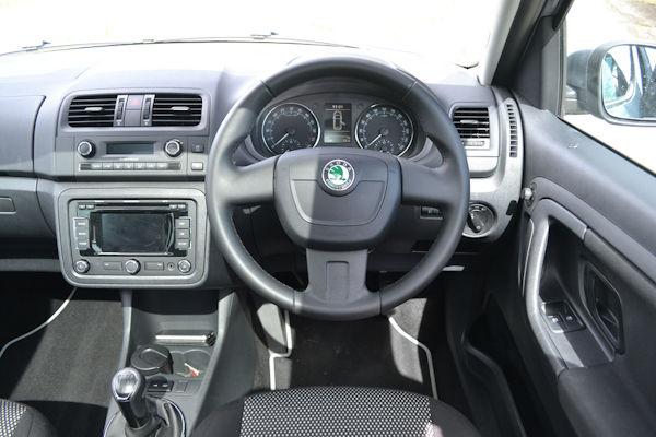 Skoda Roomster Scout interior