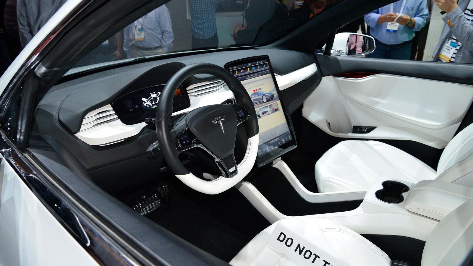 Teasing Teslas Model X Suv Previewed Carwow