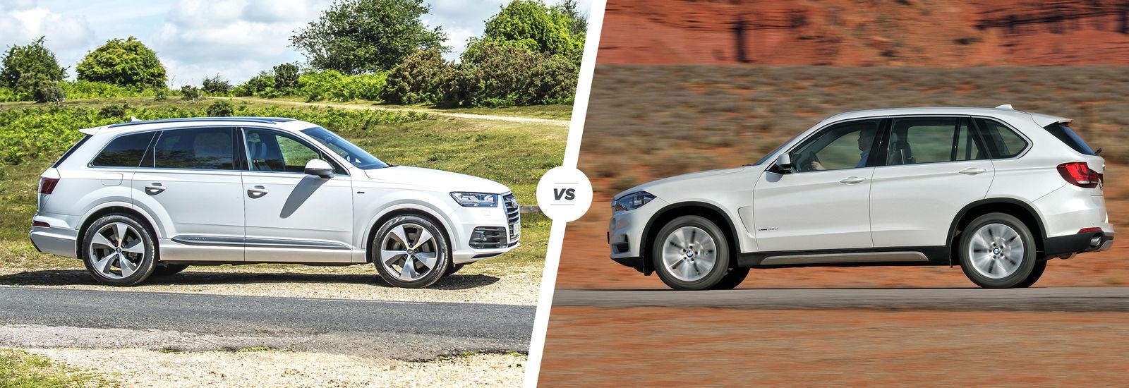 Audi Q7 Vs Bmw X5 Luxury Suv Showdown Carwow