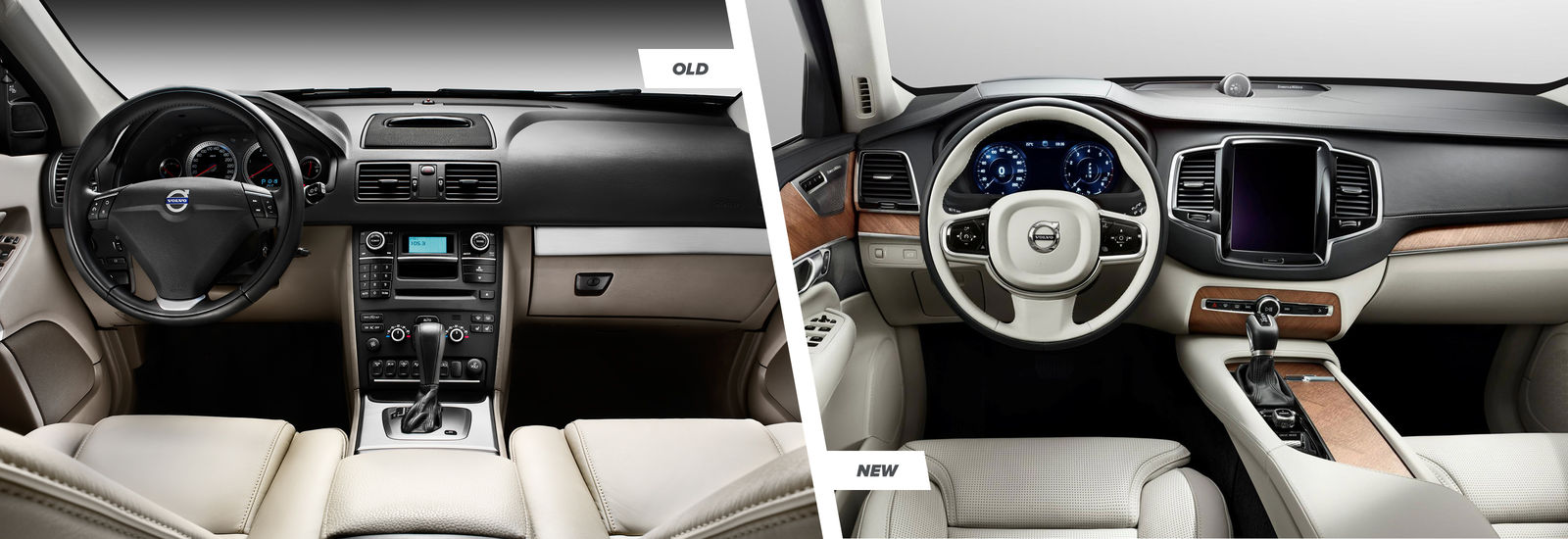 2015 Volvo Xc90 Old Vs New Side By Side Comparison Carwow