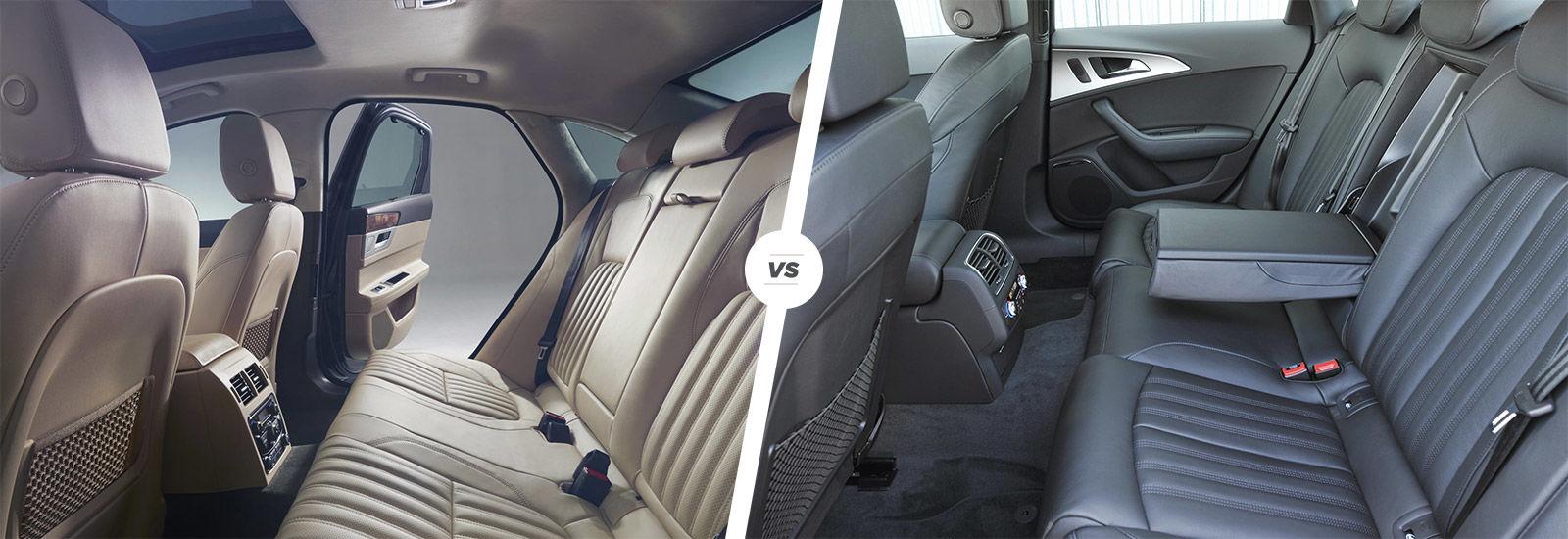 Jaguar XF vs Audi A6  executive class war  carwow