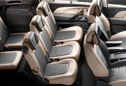 Cars with three separate rear seats