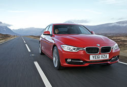 Bmw 3 series red front