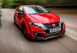 Civic type r red rhd 14