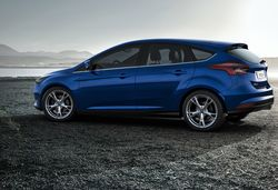 Ford Focus sizes and dimensions guide