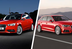 Audi a3 facelift vs old