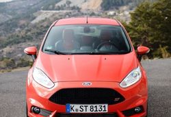 Content ford fiesta st front