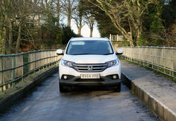 Honda crv review front