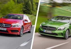 Mercedes a class old vs new