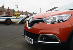 Renault captur nose