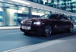Rolls royce ghost v spec front 3 4 dynamic