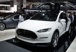 Teasing Teslas – the Model X SUV previewed
