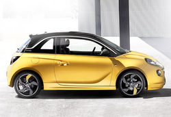 Vauxhall adam yellow side